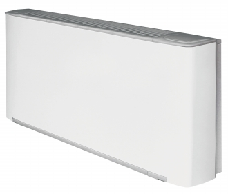 Image of a water sourced fan coil for wall mounting